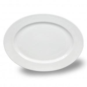 "Platte oval 36cm Fahne ""B"""