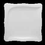 Gourmet Teller flach quadratisch 22cm 1tlg.
