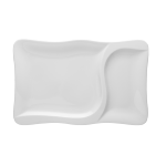 Gourmet Teller rechteckig 36x23,5cm 2tlg.