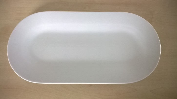 Platte oval Dubi