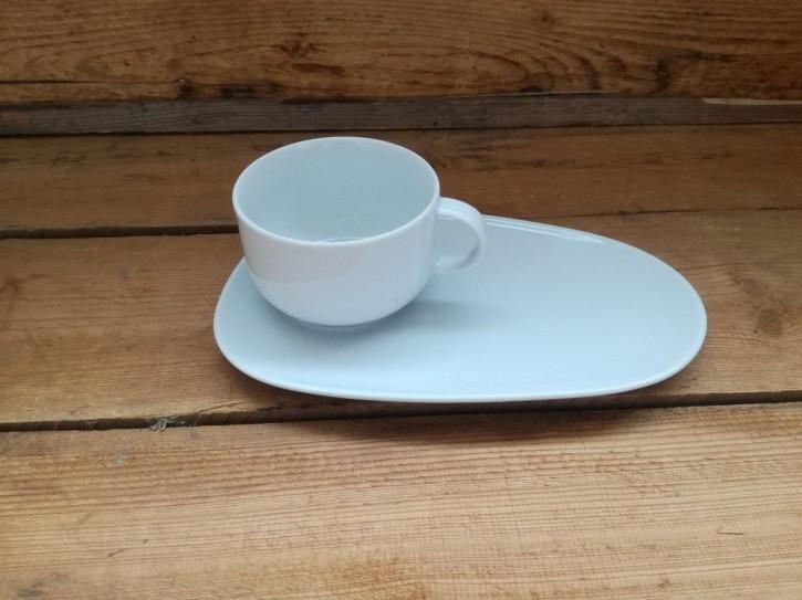 """Kaffee-Unter mit Ablage  + Tasse 0,28l """"B"""""""